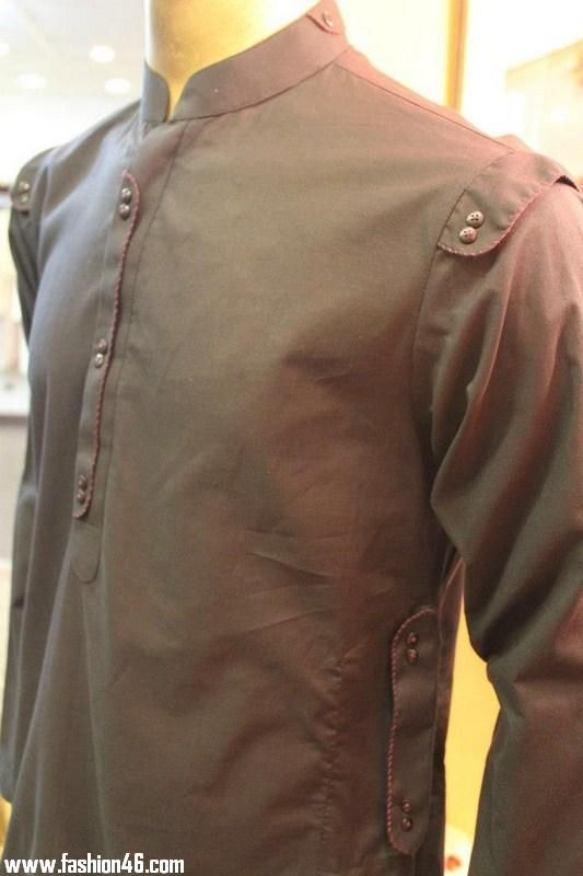 Ahsan Khan Latest 2013 Men's Kurta Dresses Collection