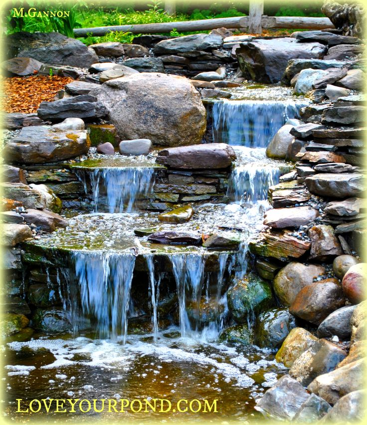 62 best waterfall designs by fsa images on pinterest for Waterfall design