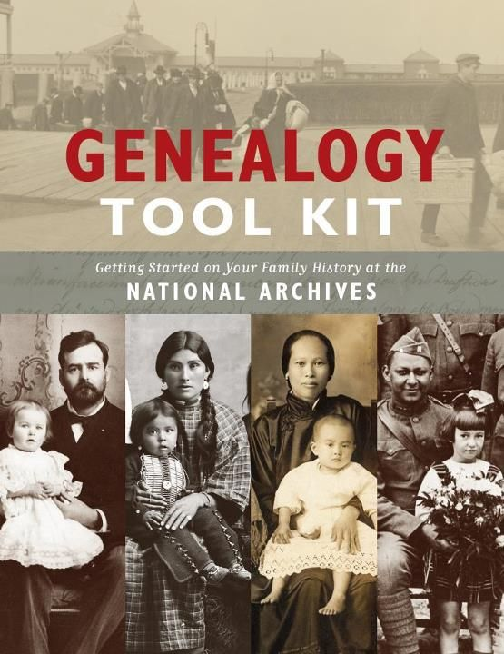 Genealogy Tool Kit for researching one's family history using the National Archives.