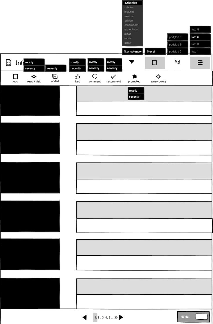 Wedding companies_Information Extended mockup_example of list view_ 6 lines.