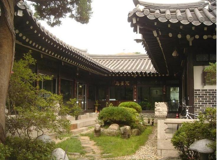 한옥 청사, municipality building in Seoul, UNIQUE!!