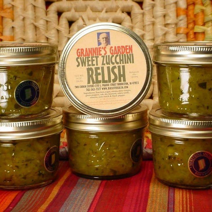 Prize Winning Zucchini Relish Recipe
