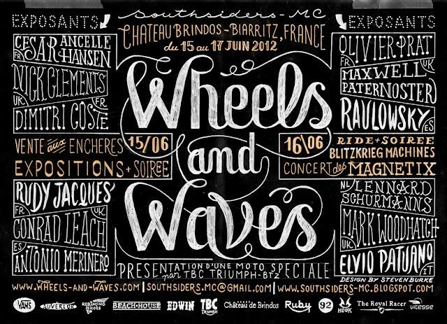 Wheels and Waves de Steven Burke