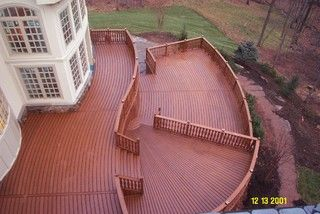 Custom Trex Deck - traditional - patio - baltimore - by American Deck and Patio