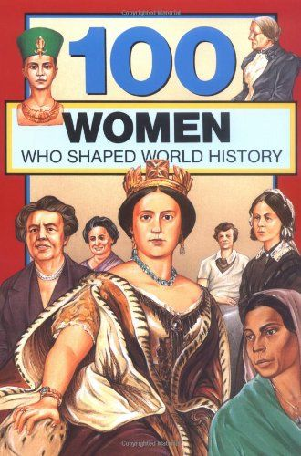 100 Women Who Shaped World History (100 Series) by Gail Rolka,http://www.amazon.com/dp/0912517069/ref=cm_sw_r_pi_dp_8SYlsb0N5EDG0H9E