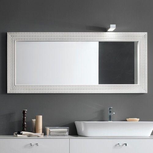 Bathroom Mirror Edge Trim best 25+ horizontal mirrors ideas on pinterest | cheap wall