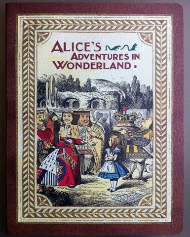 Notebook (Large, blank): Alice in Wonderland – Tales for Tadpoles