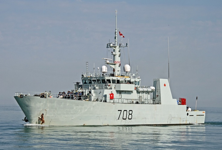 HMCS Moncton (MM 708) is a Kingston-class coastal defence vessel that has served in the Canadian Forces since 1998. She is the ninth ship of her class which is the name for the Maritime Coastal Defence Vessel Project, and the second vessel to use the designation HMCS Moncton.
