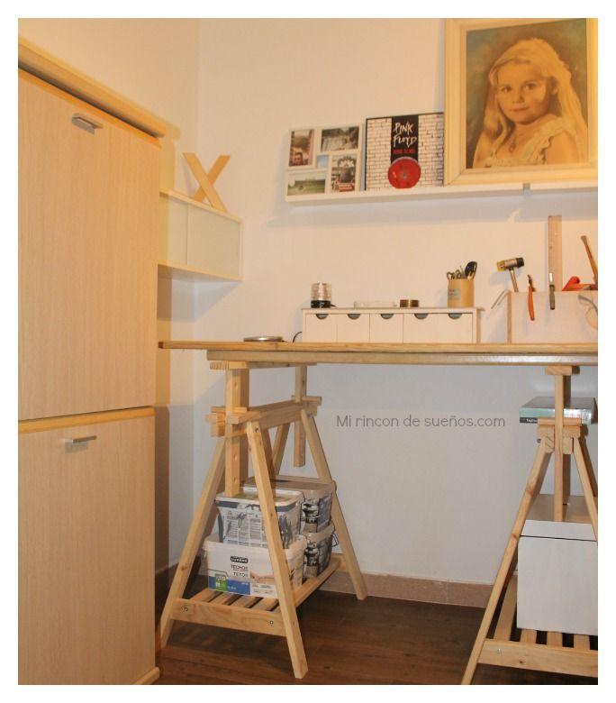 MI RINCÓN DE SUEÑOS: Como reciclar muebles para un despacho