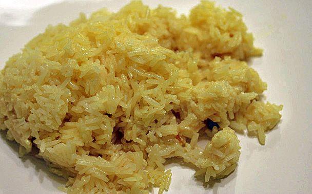Coconut Rice from Madhur Jaffrey
