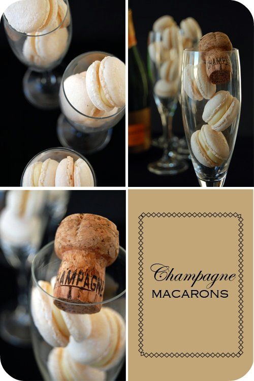 { Champagne Macarons } | { Mélanger :: to mix }