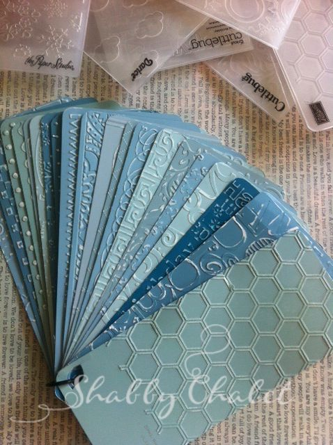 Storage and organization are always the largest issues with scrapbooking and papercrafting tools and supplies. I find with embossing folder...