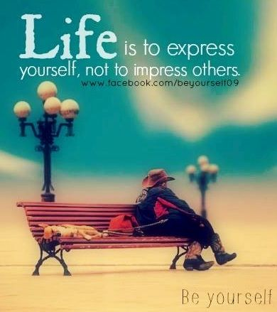 Why it is important to express yourself