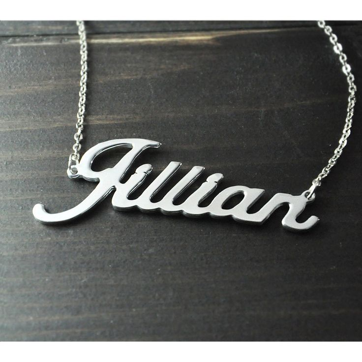 Any Personalized Name Necklace alloy pendant Alison font fascinating pendant custom name necklace Personalized necklace-in Pendant Necklaces from Jewelry on Aliexpress.com   Alibaba Group