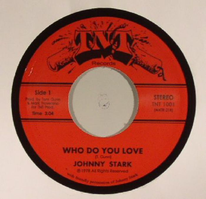 The artwork for the vinyl release of: Johnny Stark - Who Do You Love (Tramp) #music Disco