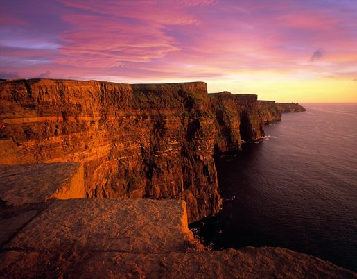 Cliffs of Moher, Ireland One of the most beautiful places I have ever been to