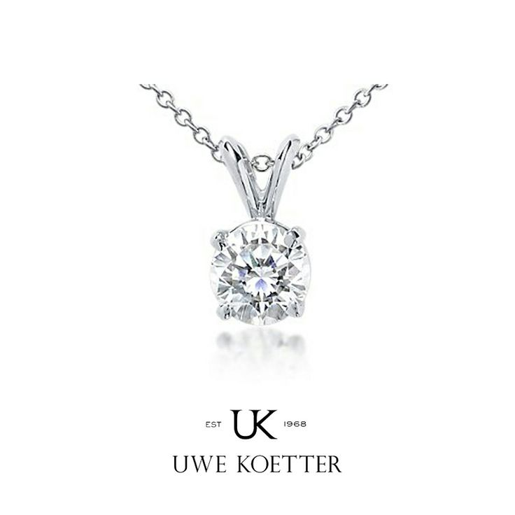 Diamond pendant from Uwe Koetter