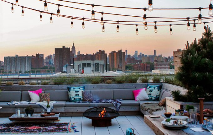 rooftop styling in brooklyn
