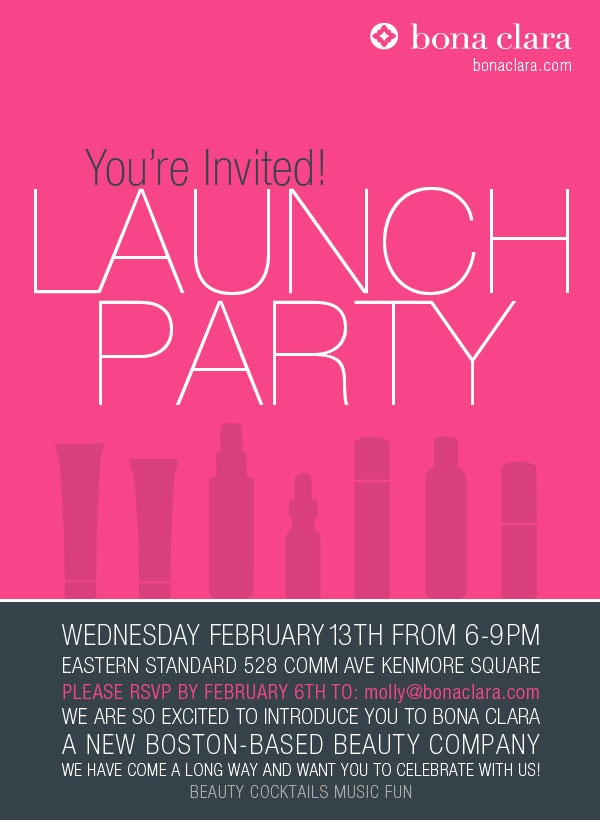 word launch partykiwishowroom - Launch Party Invitation