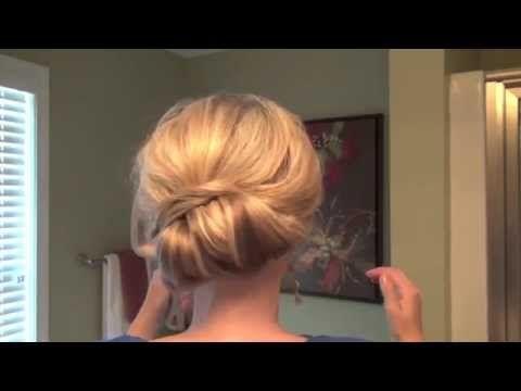 Прическа хвост для вечернего выхода. Exquisite Tail for an Evening Event - YouTube