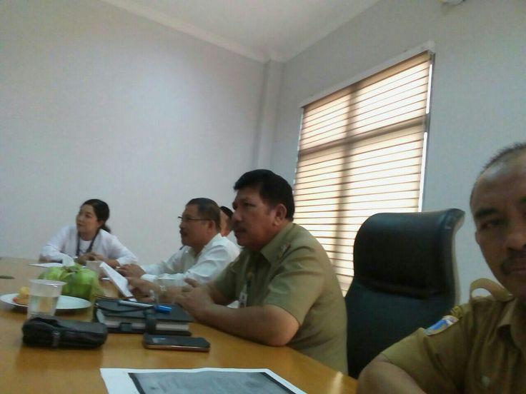 Rapat koordinasi dengan KPP Pratama Pasar Rebo mengenai pendataan Objek Pajak PBB sebagai data maksimalisasi program tax amnesty