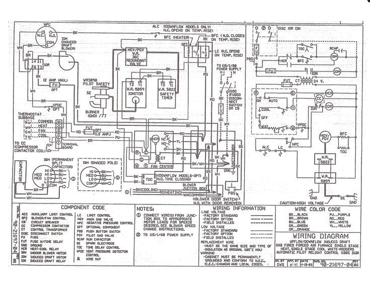 Older Gas Furnace Wiring Diagram In, Gas Furnace Wiring Diagrams