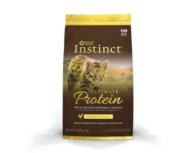 Best High Protein Canned Cat Food With Nature's Variety Instinct Ultimate Protein Grain Free Dry Cat Food Best High Protein Canned Cat Food Cats