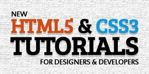 Fresh HTML5 and CSS3 Tutorials For Designes and Developers http://myhelpster.com/