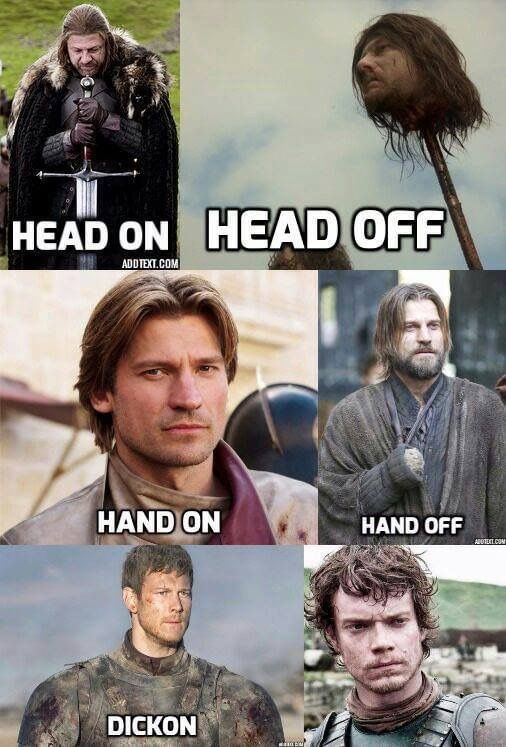 Game of Thrones Funny. Poor Theon