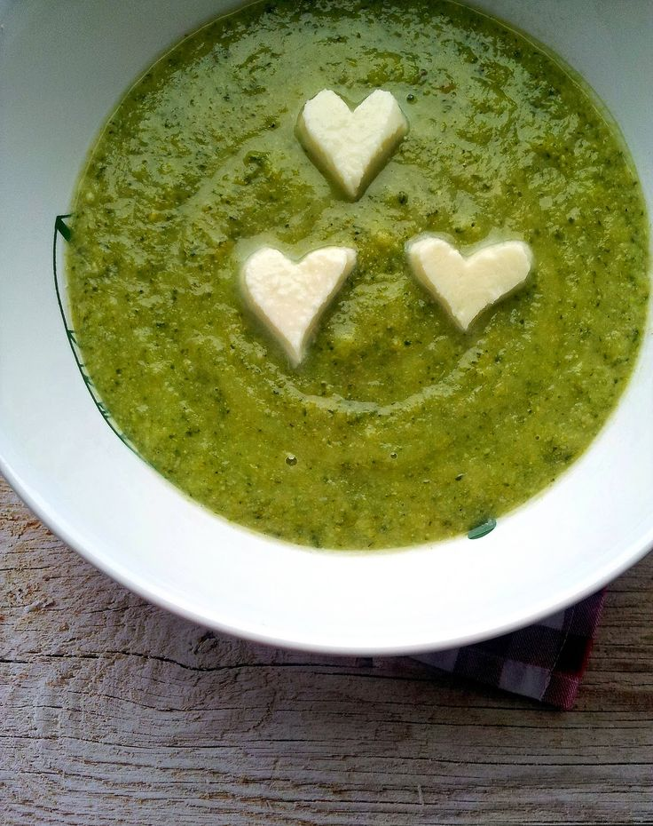 Brokolicový krém s mozzarellou   Cooking with Šůša