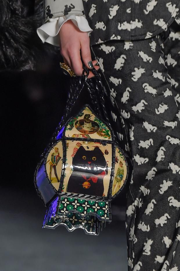 Anna Sui Gall 2016 Details #bag #cat