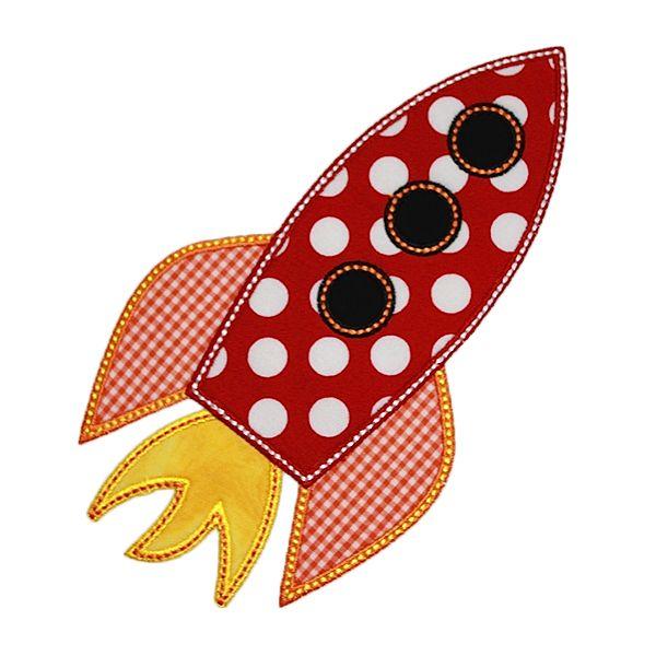 Rocket Applique