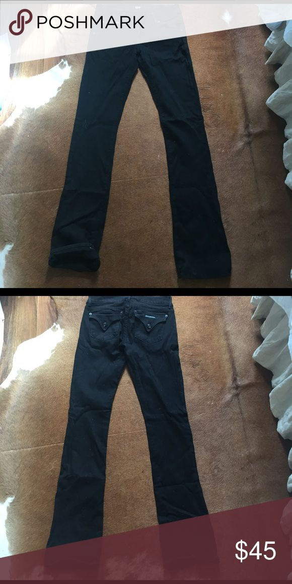 Black Hudson Jeans Black bootcut jeans good condition Hudson Jeans Jeans Boot Cut