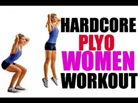 HARDCORE plyometric workout     When I get advanced enough I am gonna try to do this WHOLE video beginning to end :)