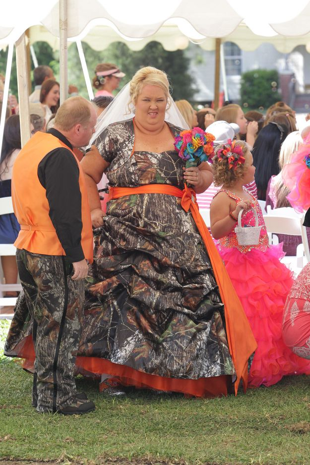 After 9 years together, Honey Boo Boo's Mama and Sugar Bear finally tied the knot. IT'S A REDNECK WEDDIN', Y'ALL!