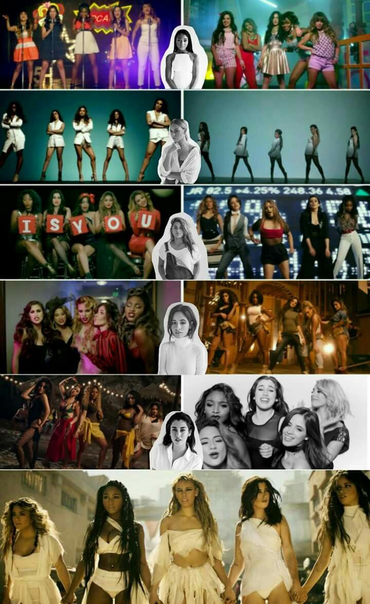 Fifth Harmony... look at how much they have grown  from the Better Together Album to the 7/27 Album... it's a big change  And I can't wait for their new album to come out ❤️