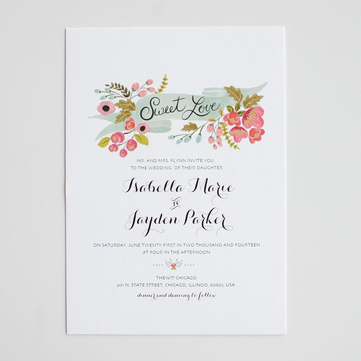 the audrey invitation suite   wedding invitations | the wedding chicks