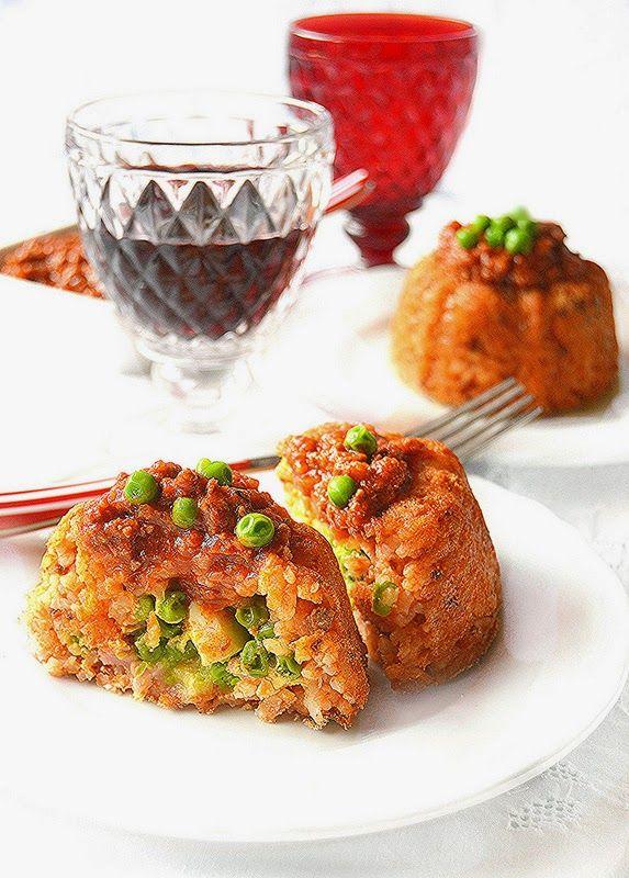 Dolci a go go: Mini sartù di riso alla napoletana al ragù primavera