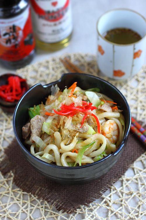 Udon Noodles (Yaki Udon)