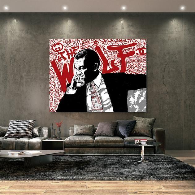 Wolf Canvas Wall Art Painting Inspiration Wolf Canvas Art