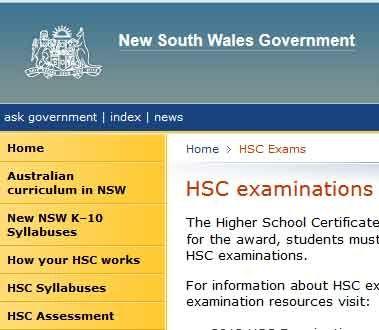 Study nsw school certificate