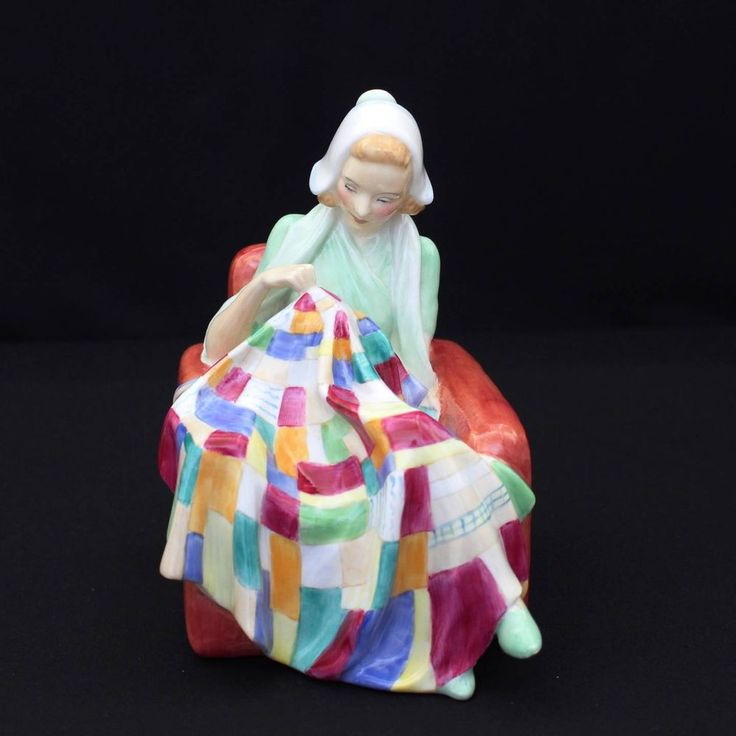 Royal Doulton The Patchwork Quilt Figurine HN1984 Quilter ...
