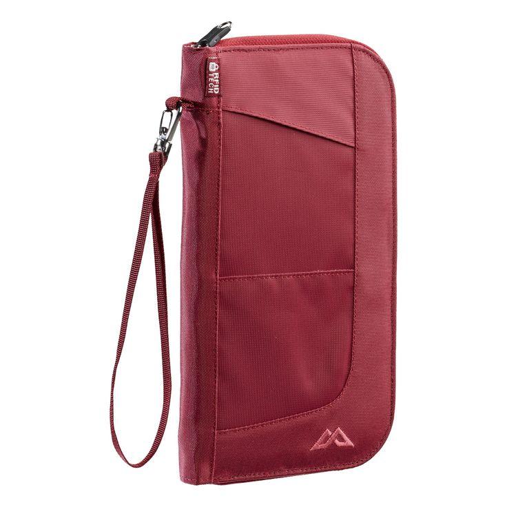 Kathmandu - dark red Departure Wallet