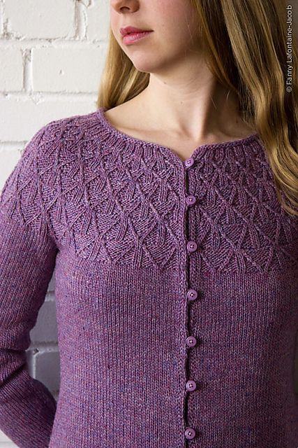 Ravelry: Wickerwork pattern by Gudrun Johnston