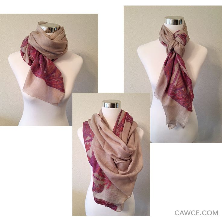 9 ways of wearing a scarf (part 3)