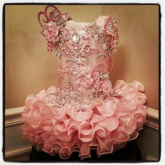 Custom Glitz pageant dresses, babydoll, face dress, casual wears