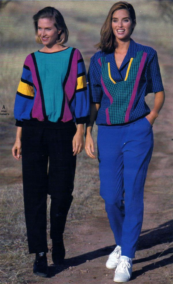 1990s clothes catalog too 1970s fashion for women