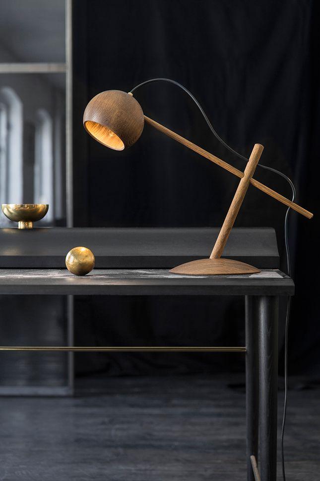 Natural lamp design.