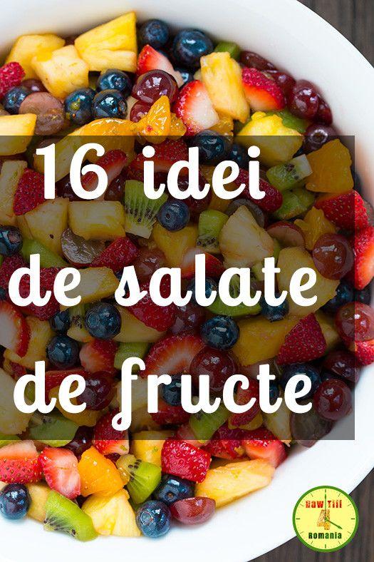 16 idei de salate de fructe care să te inspire - Raw Till 4 Romania