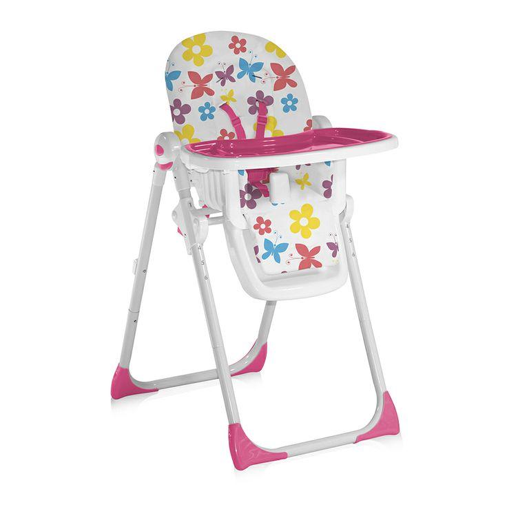 Scaun de masa Lorelli Siesta dotat cu spatar reglabil si husa detasabila. Scaunele de masa Lorelli dispun si de suport pentru picioare si un spatar reglabil, pentru confortul bebelusului.